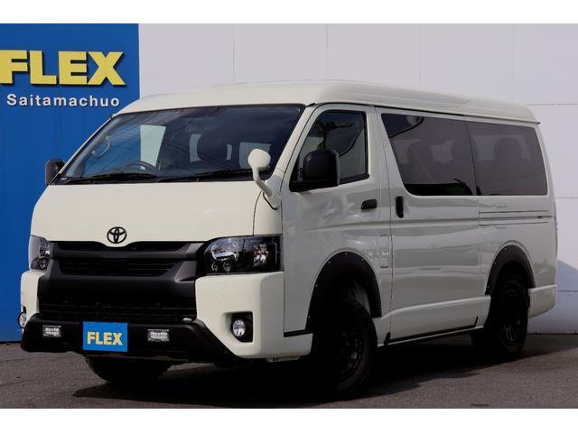 トヨタ GL 特設カラーライトイエロー・FLEX内装架装Ver1・デルタフォース16インチアルミホイール・マッドウォーリアタイヤ・7インチワイドナビ・コンプリート車両・ETC
