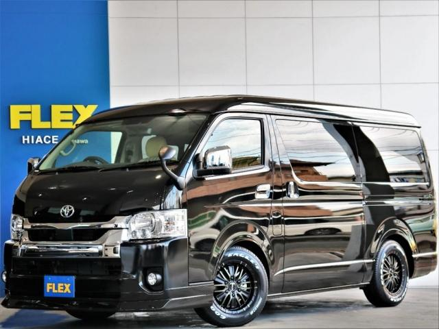 トヨタ GL FLEXカスタム スタンダードパッケージ リノカシートカバー スマートキー トヨタセーフティーセンス パノラミックビューモニター デジタルインナーミラー クリアランスソナー 自動ドア