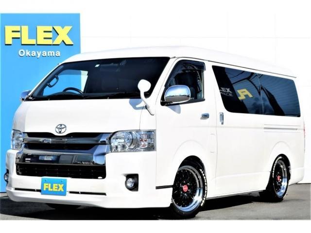 トヨタ スーパーGL ダークプライムII 5型 ダークプライムII ワンオーナー ワイドバン トヨタセーフティセンス パールホワイト LEDヘッドランプ スマートエントリー&スタートシステム 助手席エアバッグ 100Vアクセサリーコンセント