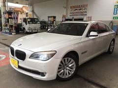 BMW750i サンルーフ・黒革・純正マルチ・TV・Bカメラ・禁煙