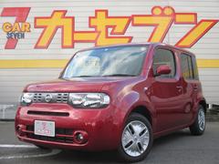 キューブ15X Vセレクション 新品SDナビ 当社元デモカー