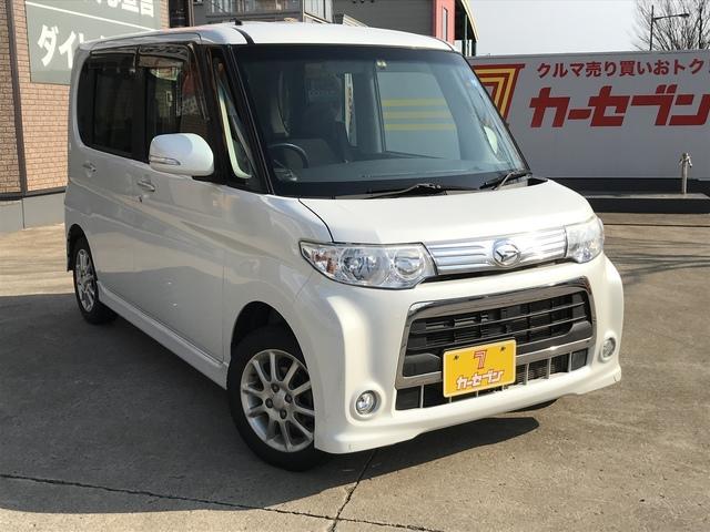 ダイハツ カスタム X 社外ナビ 左パワースライド 4WD