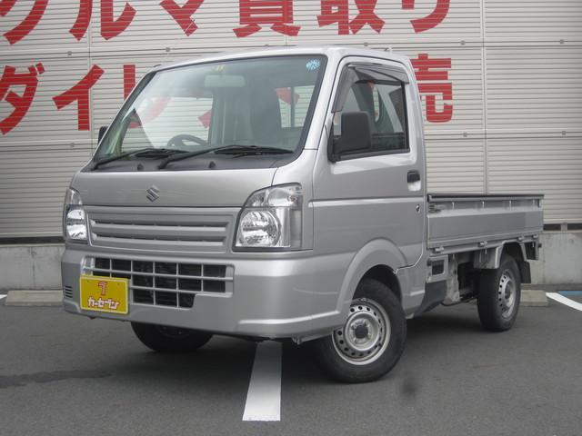 スズキ KCエアコン・パワステ 4WD 5MT ワンオーナー 禁煙