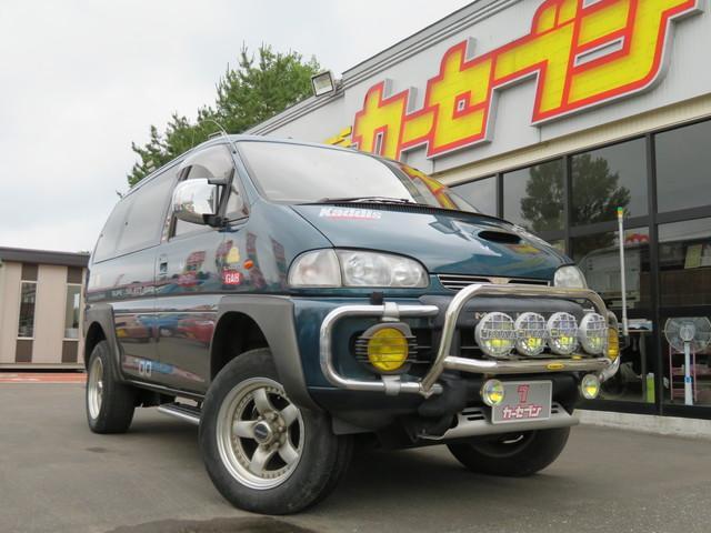 三菱 スーパーエクシード 4WD 車検整備付 サンルーフ