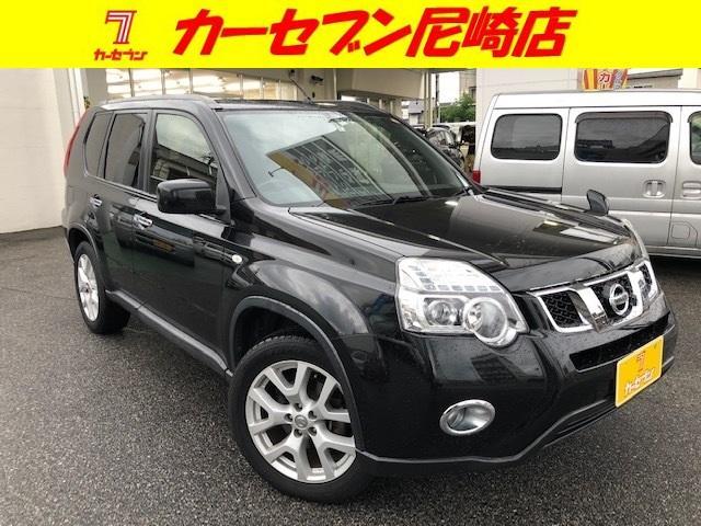 日産 20Xtt カプロンシート・全席シートヒーター・社外ナビ