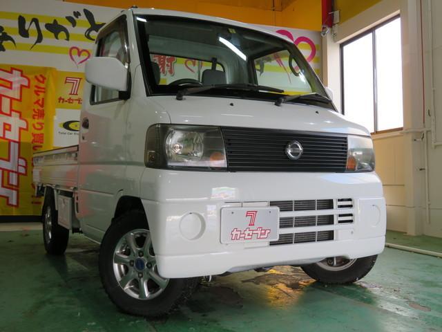 日産 DX 4WD エアコン