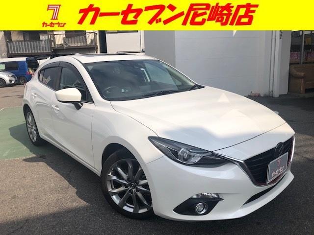 マツダ XD ワンオーナー車・サンルーフ・BOSEサウンド