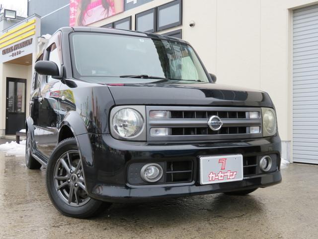 日産 15RS FOUR 4WD ABS キーレス 社外アルミ