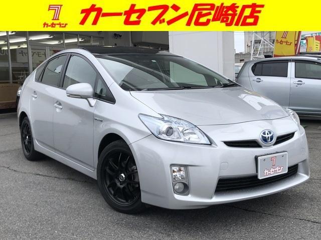 トヨタ G ソーラーパネル・ワンオーナー車・純正HDDナビ・TV