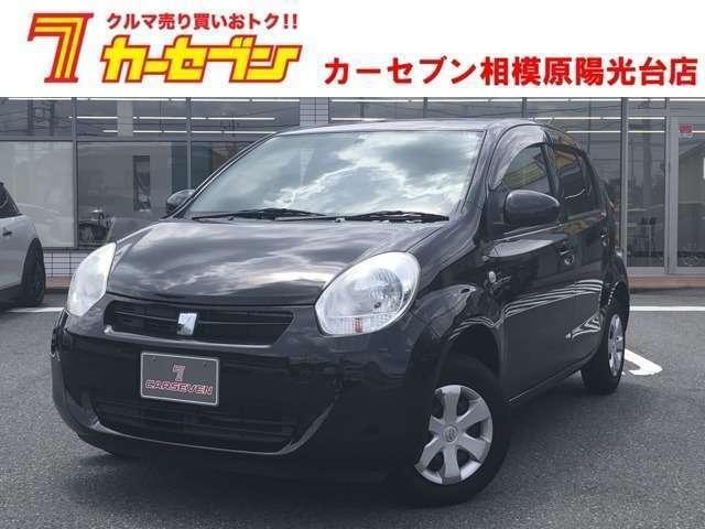 トヨタ パッソ X クツロギ トヨタ純正ナビ/BluetoothAudio/スマートキー ブラック