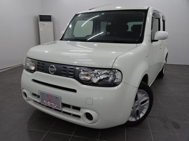 日産 キューブ 4WD社外ナビ/AUX/ETC/2WD・4WD切替
