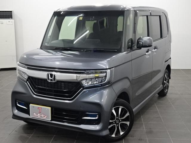 ホンダ N-BOXカスタム G・Lホンダセンシング 4WD 純正ナビ/TV/両側パワスラ