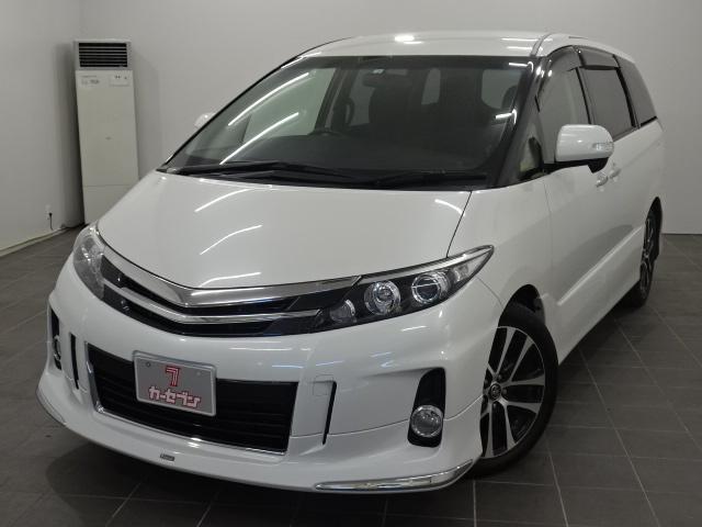 トヨタ アエラス 4WD/純正ナビ/TV/フリップダウン/ETC