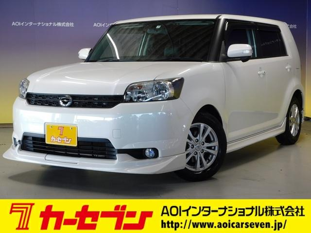トヨタ 1.5G SDナビ フルセグTV Rカメラ HIDライト DVD SD ETC フルエアロ レザー調シートカバー プッシュスタート