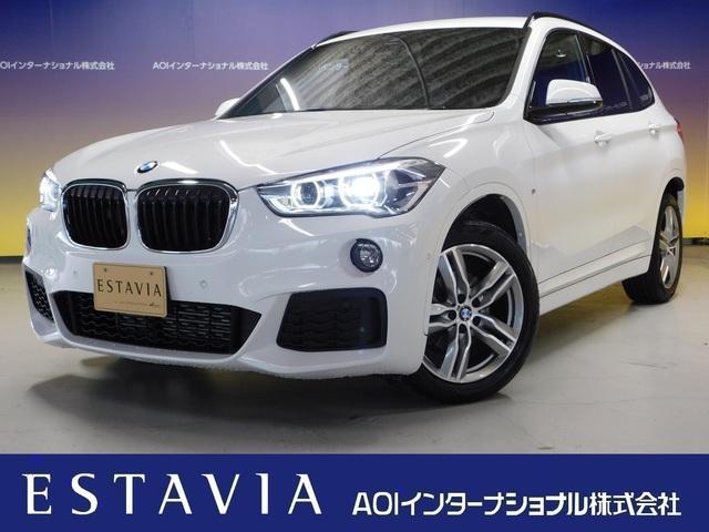 BMW X1 xDrive 18d Mスポーツ 純正HDDナビ 純正18インチAW 衝突軽減ブレーキ レーンキープ シートヒーター オートリヤゲート バックアップ 前後ソナー LEDヘッドライト BT  DVD  CD  USB  ETC