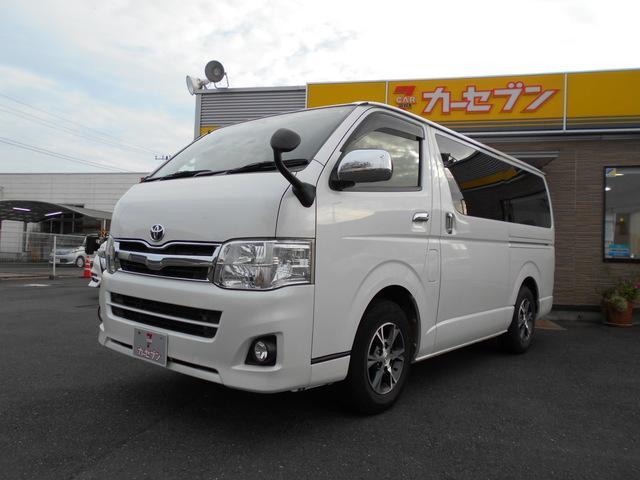 トヨタ ロングスーパーGL キセノンライト ETC 純正SDナビ