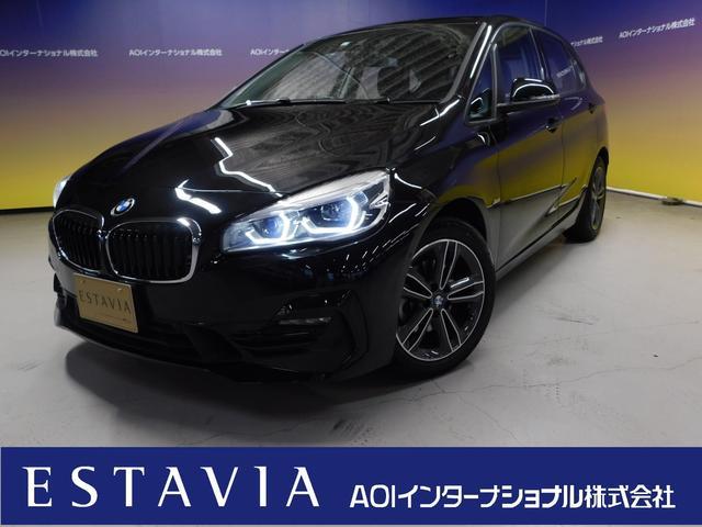 BMW 218dアクティブツアラー スポーツ ナビ 衝突軽減ブレーキ ハーフレザーシート バックカメラ 前後ソナー レーンキープ LEDヘッドライト ETC