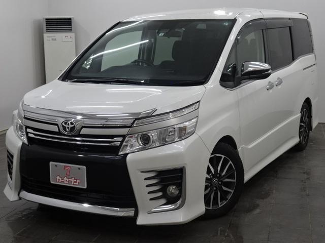 トヨタ ZS 煌 4WD/純正ナビTV/両側パワスラ/フリップダウン/純正エンジンスターター/Pスタート/TSS