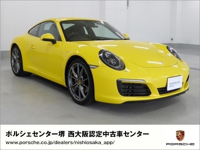 ポルシェ カレラ PDK 新車保証 試乗車 OP価格360万円