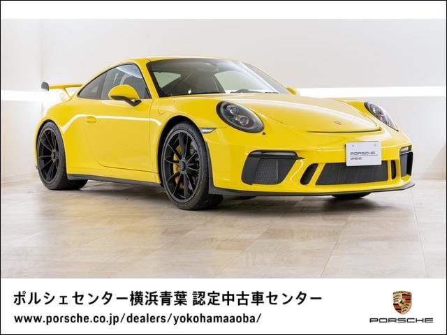 ポルシェ GT3 MT クラブスポーツパッケージ