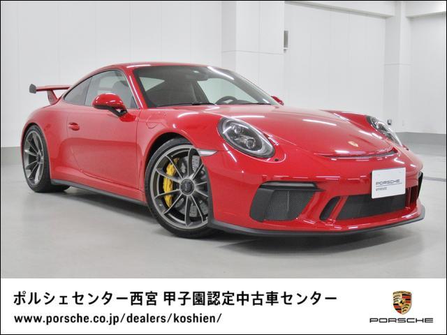 ポルシェ 911GT3 MT 禁煙車 1オーナー 新車保証継承