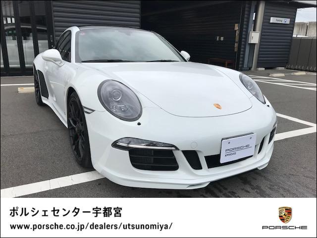 ポルシェ カレラ GTS PDK 認定中古車保証ガラススライディングル