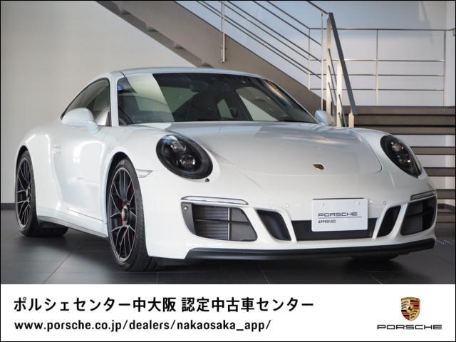 ポルシェ カレラ4 GTS PDK 1オーナー/禁煙車/新車保証