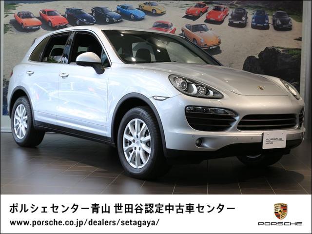 ポルシェ TipS 4WD 右H 2012年モデル 認定中古車保証付