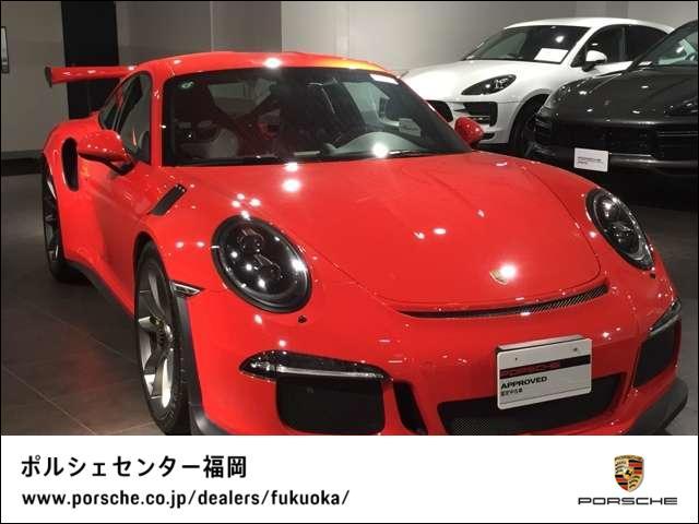 ポルシェ GT3 RS PDK フロントリフトシステム