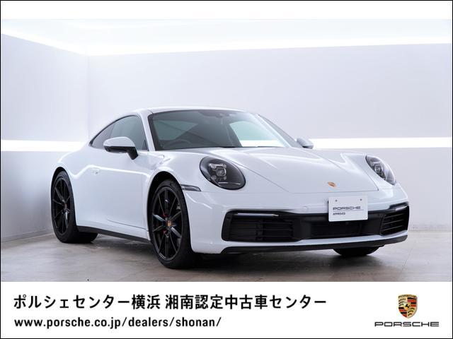 ポルシェ 911カレラS 14Way電動シート ブラックホイール ポルシェエントリー&ドライブシステム プライバシーガラス モデル名エンブレムなし