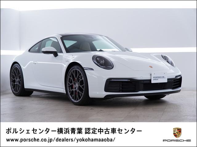 ポルシェ 911 911カレラS スポーツクロノ 電動ガラスサンルーフ 20インチRSスパイダーデザインホイール PDLS付きLEDヘッドライト モハーヴェベージュレザーシート ポルシェエントリー&ドライブ パワーステアリングプラス