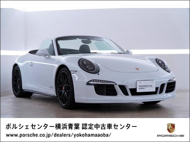 ポルシェ 911 カブリオレ カレラ GTS LEDヘッドライト GTSインテリア