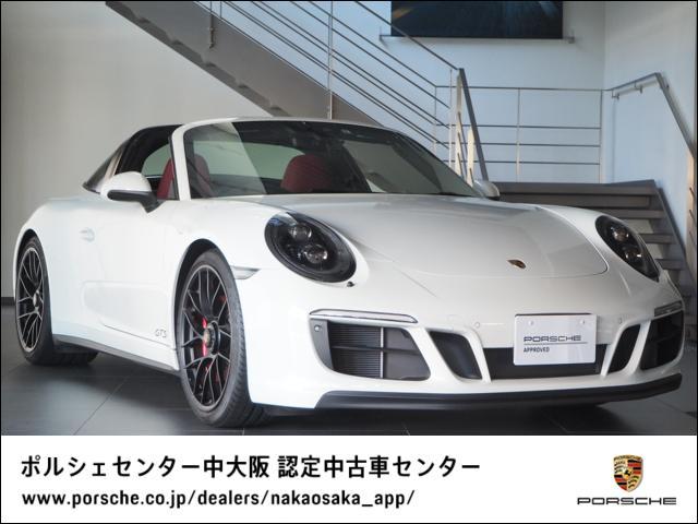 ポルシェ 911タルガ4GTS 1オーナー/レザーインテリア/リアステア