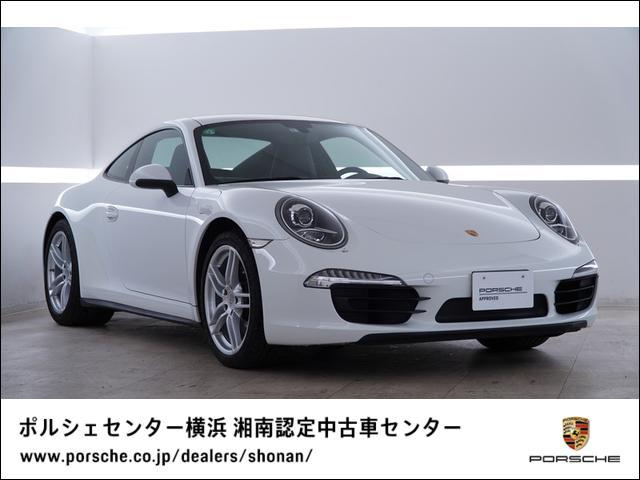 ポルシェ 911カレラ4 スポーツデザインステアリングホイール シートヒーター ポルシェダイナミックライトシステム