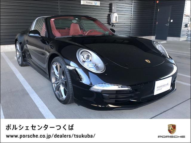 ポルシェ 911 911タルガ4 認定中古車保証ナチュラルレザーインテリア