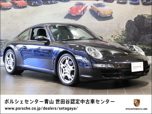 ポルシェ 911カレラS 2006年モデル 左H 認定中古車納車前整備渡し付 外装色メタリックペイント シートヒーター ティプトロニックSトランスミッション