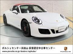 911911タルガ4GTS LEDヘッドライトシステムPDLS+ ポルシェエントリー/ドライブシステム パークアシスト/バックカメラ カラーシートベルト/ボルドーレッド グレートップウィンドウスクリーン BOSEサウンドシステム