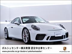 911911GT3 スポーツクロノパッケージ フロントリフト ホワイトカラークロノメーターパネル 助手席ラゲッジネット、ドアリリースレバーブラック塗装(ハイグロス)