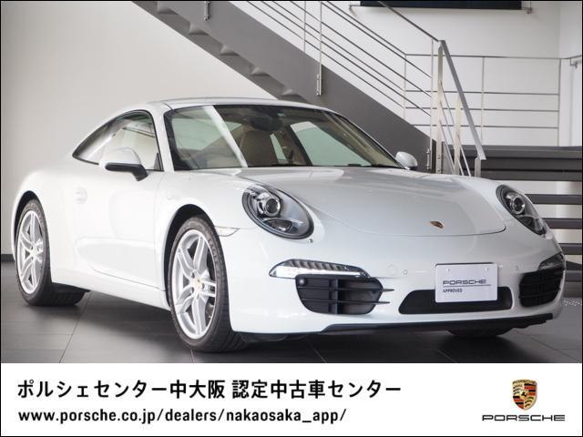 ポルシェ 911カレラ スポクロ/スポーツステア/シートヒーター