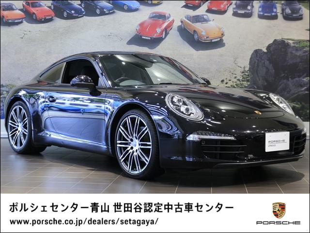 ポルシェ 911 911カレラブラックエディション 2016年モデル 右H 認定中古車保証付 LEDヘッドライト BOSEサウンドシステム 20インチ911ターボデザインホイール スポーツデザインステアリング 電動格納式ドアミラー