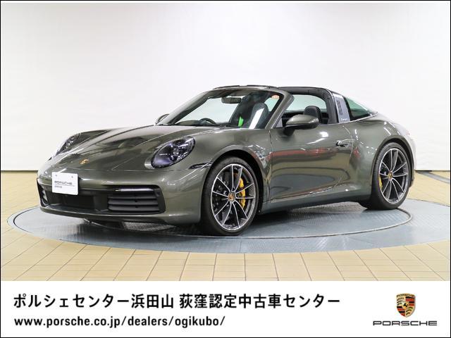 ポルシェ 911 911タルガ4 セラミックコンポジットブレーキPCCB 20/21インチCarrera Classicホイール LEDマトリックス ヘッドライト スポーツシート+ レザーインテリア GTスポーツ ステアリングホイール