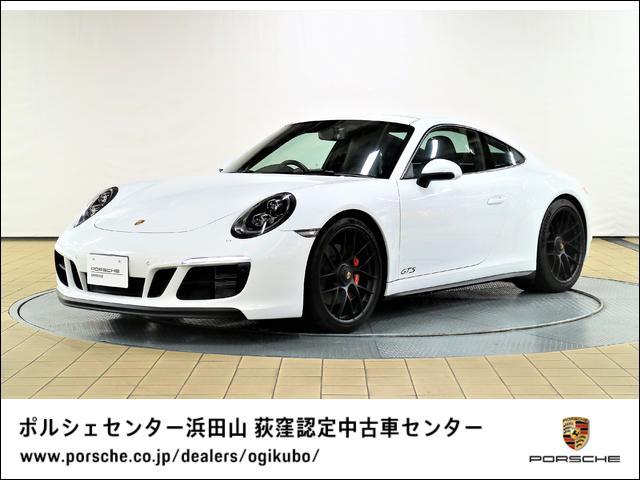 ポルシェ 911 911カレラGTS LEDメインブラックヘッドライト チルト/スライド式電動サンルーフ レーンチェンジアシスト パークアシスト(リバーシングカメラつき) ポルシェ エントリー&ドライブシステム GTスポーツステアリング