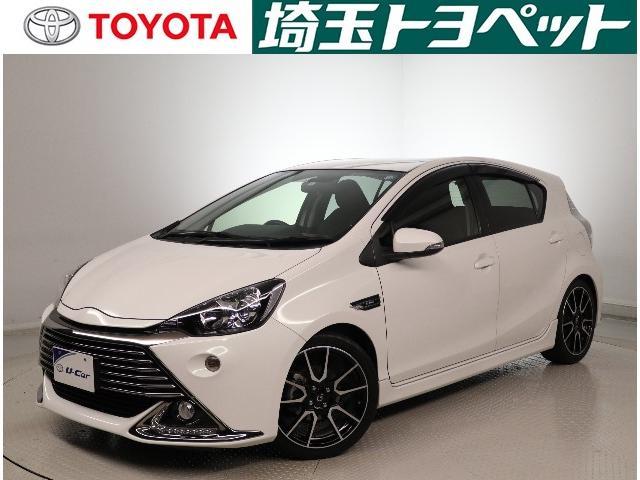 トヨタ G G's メモリーナビ・Bモニター