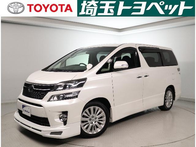 トヨタ 2.4Z Gエディション ワンオーナー HDDナビ ETC