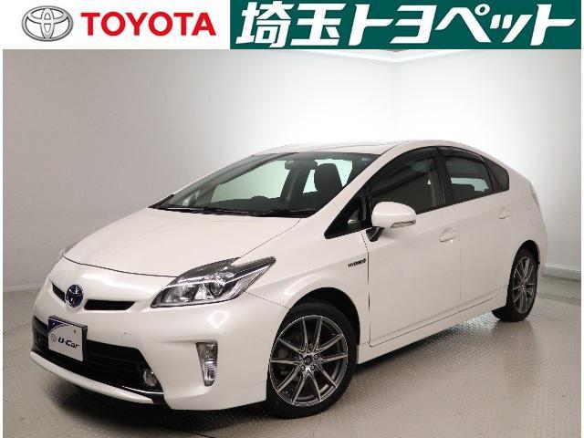 「トヨタ」「プリウス」「セダン」「埼玉県」の中古車