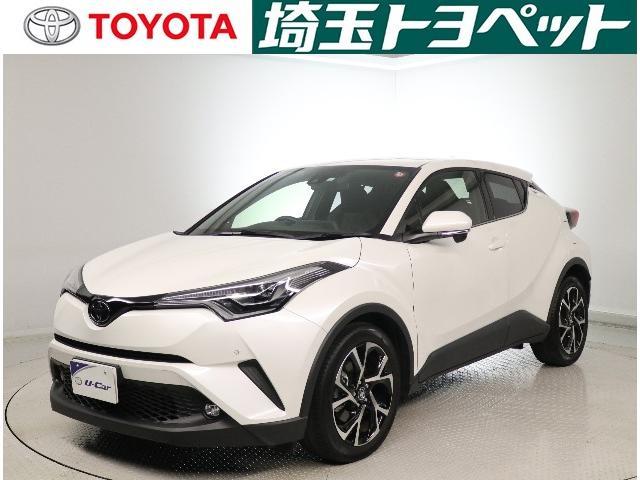 トヨタ C-HR G-T 純正SDナビ・Bモニター・当社社用車