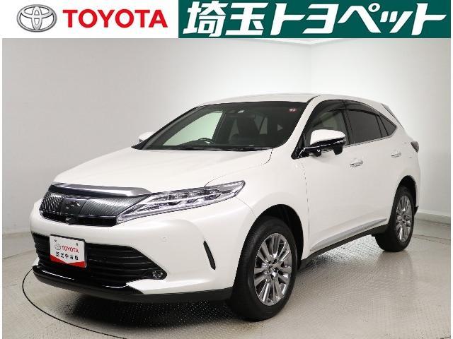 トヨタ ハリアー プレミアム メタル&レザーパッケージ LED・パワーゲート