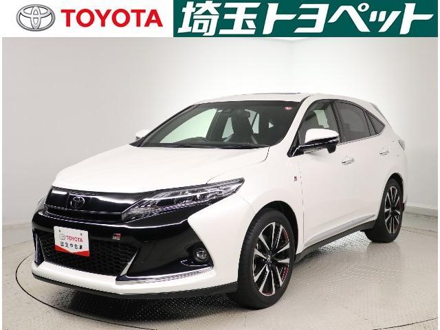 トヨタ ハリアー エレガンス GRスポーツ サンルーフ LED・パワーゲート