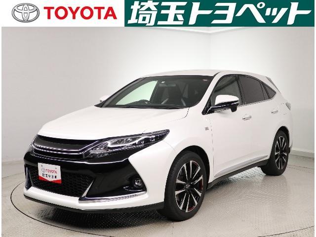 トヨタ ハリアー エレガンス G's LEDライト・パワーシート
