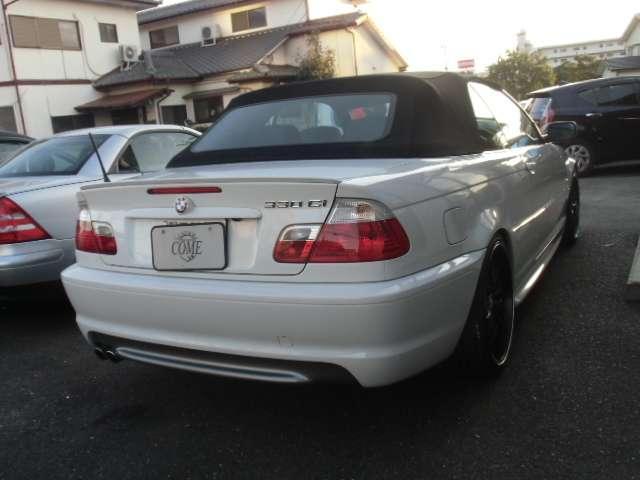 BMW BMW 330Ciカブリオーレ Mスポーツ   レザーシート